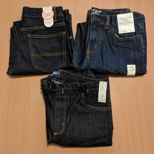 🎁 3 NEW pairs of jeans size 10 HUSKY